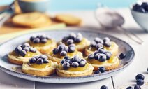 Blueberry and Lemon Cheesecake Cookies